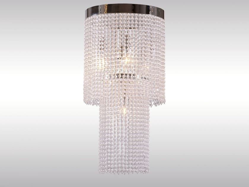 Classic style glass chandelier CR2 by Woka Lamps Vienna