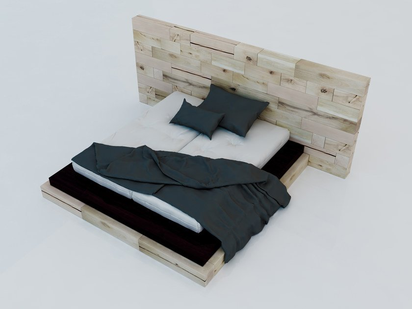 Beech double bed CRAFTWAND® | Bed by CRAFTWAND