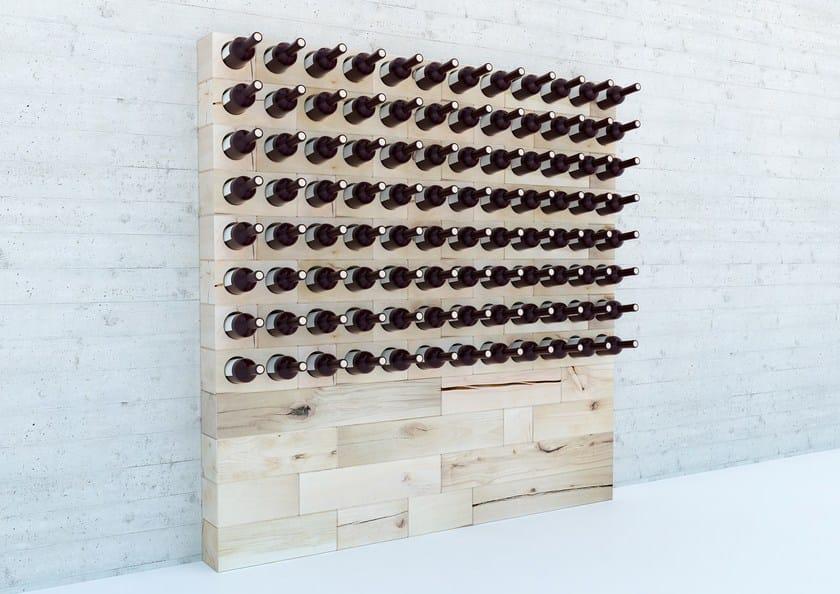 Beech wine storage / bottle rack CRAFTWAND® | Bottle rack by CRAFTWAND