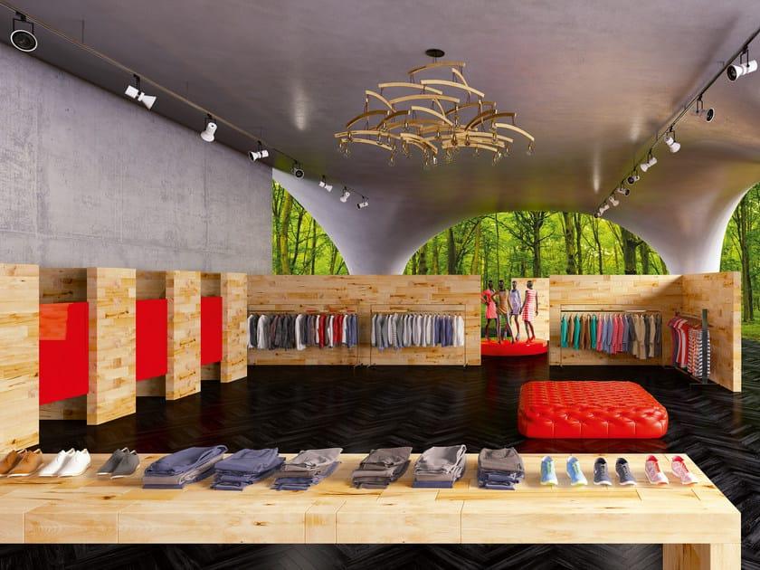 Beech Shop furnishing CRAFTWAND® | Shop furnishing by CRAFTWAND