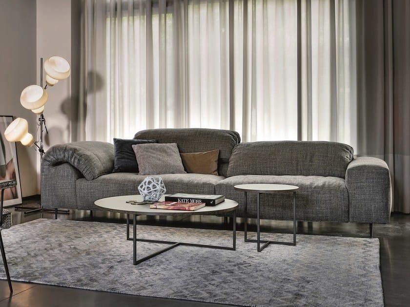 Merveilleux 3 Seater Fabric Sofa With Headrest CRAZY DIAMOND | Fabric Sofa By Arketipo