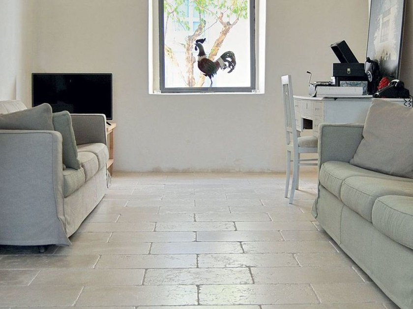 Pavimento/rivestimento in pietra CREAM | Pavimento/rivestimento by TWS