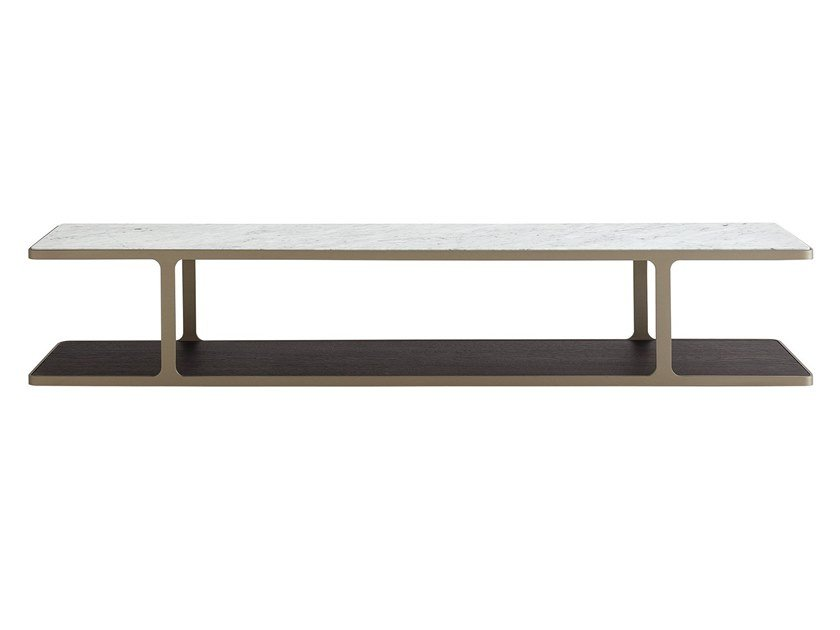 Rectangular coffee table CREEK | Rectangular coffee table by poliform