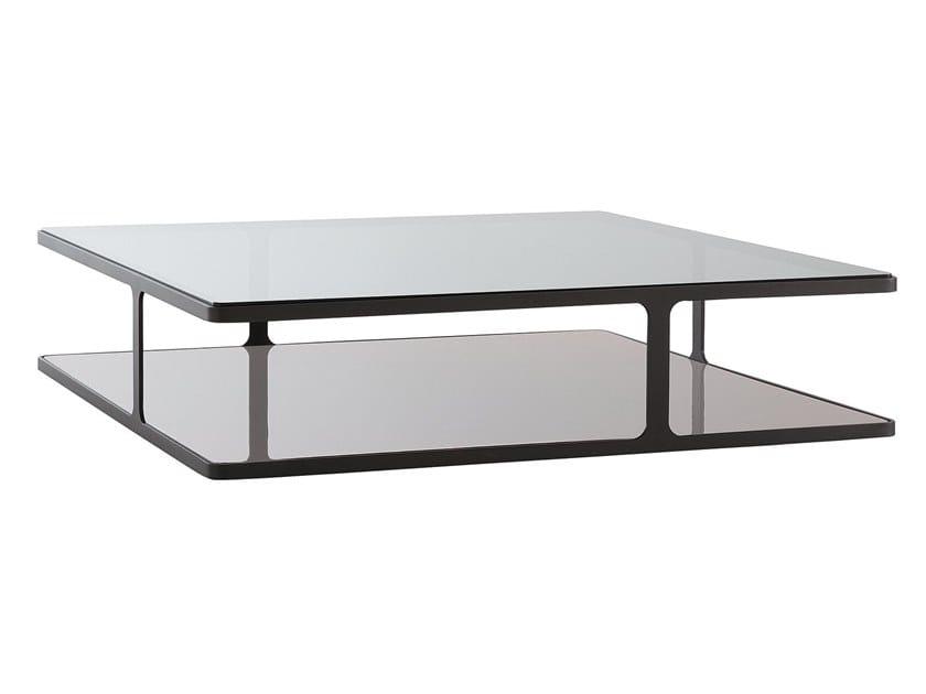 Square coffee table CREEK | Square coffee table by poliform