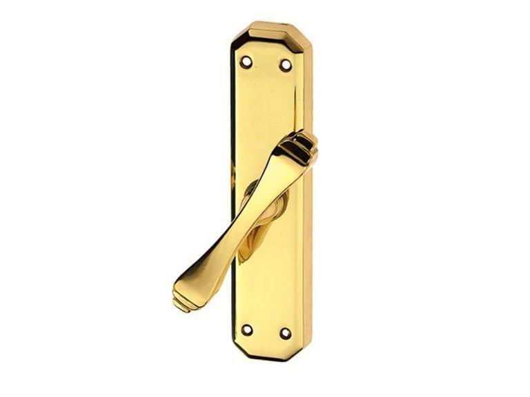 Brass Cremone handle CREOLA CLASSIQUE | Cremone handle by Pasini