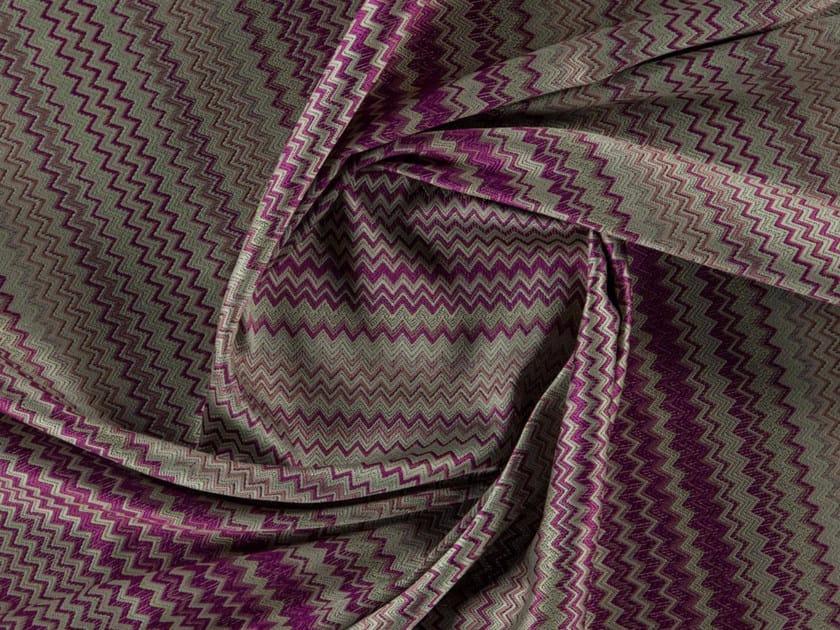 Jacquard washable polyester fabric PETRONAS by More Fabrics