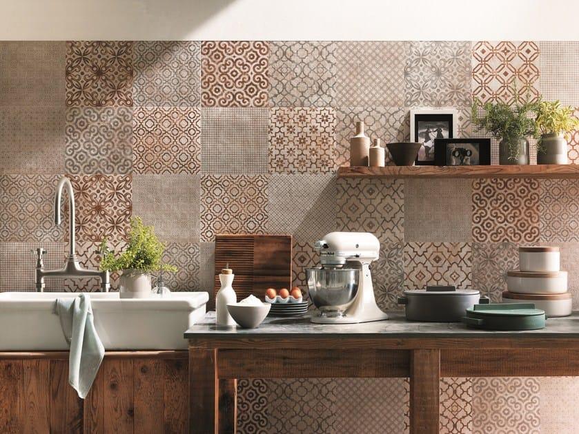 Mosaico in ceramica a pasta bianca creta mosaico fap ceramiche