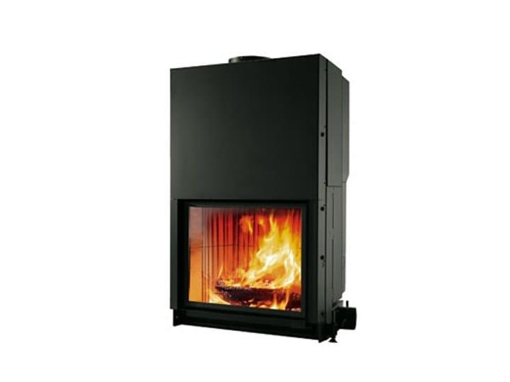 Wood-burning built-in fireplace CRISTAL 76 by EDILKAMIN
