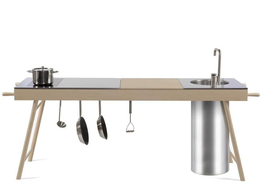 Ash Kitchen unit Island CRITTER | Kitchen unit by STIP