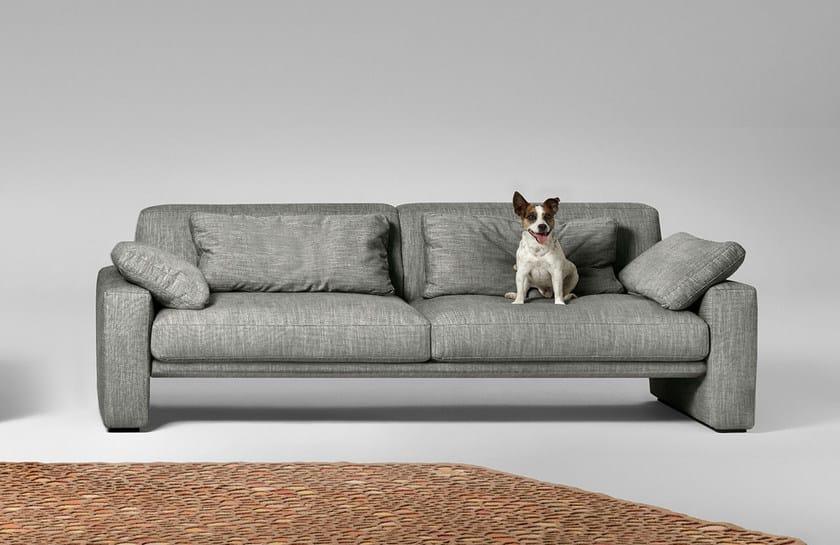 3 seater fabric sofa CROONER   3 seater sofa by ALIVAR