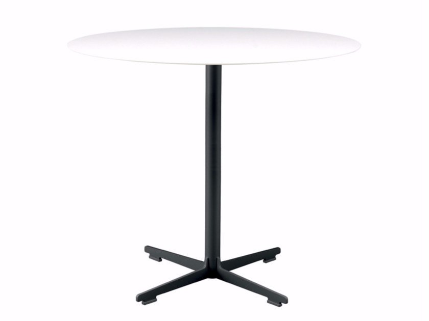 Round table with 4-star base CROSS TABLE - 573 | Table by Alias