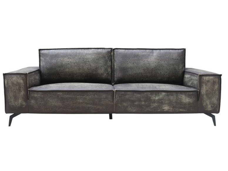 Astounding 3 Seater Imitation Leather Sofa Ibusinesslaw Wood Chair Design Ideas Ibusinesslaworg