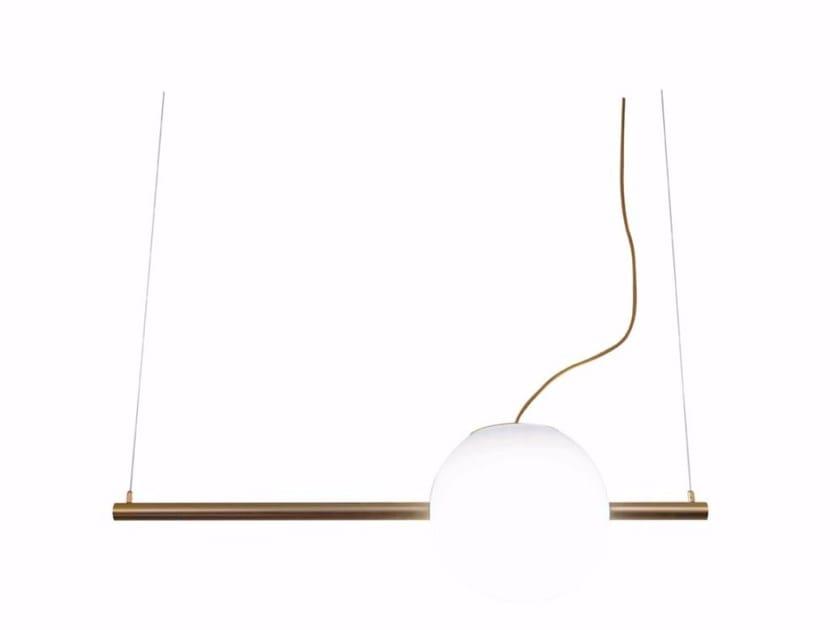 Steel pendant lamp CRUNA by Marchetti