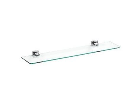 Crystal bathroom wall shelf QUADRO | Crystal bathroom wall shelf by INDA®