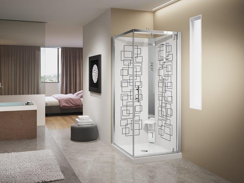 Box doccia con idromassaggio crystal g novellini