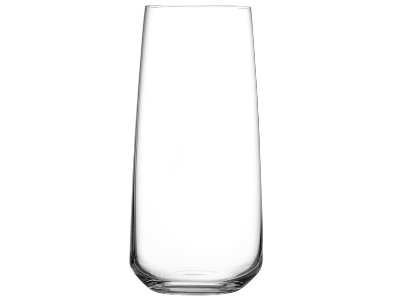 Set of 4 High Ball Glasses MIRAGE | Crystal glass by NUDE