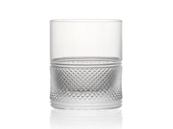 Water crystal glass ELIZABETH TUMBLER | Crystal glass by Rückl