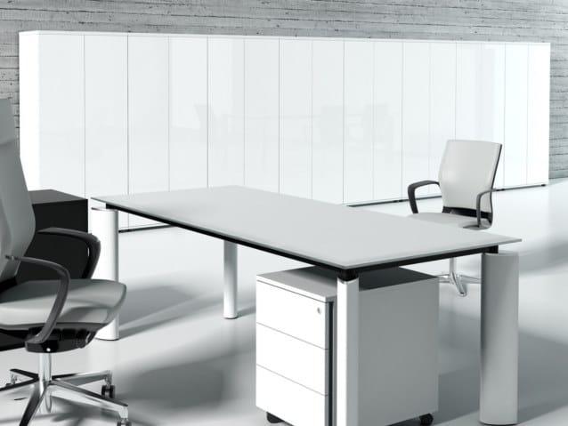 Tall office storage unit CRYSTAL | Tall office storage unit by MDD