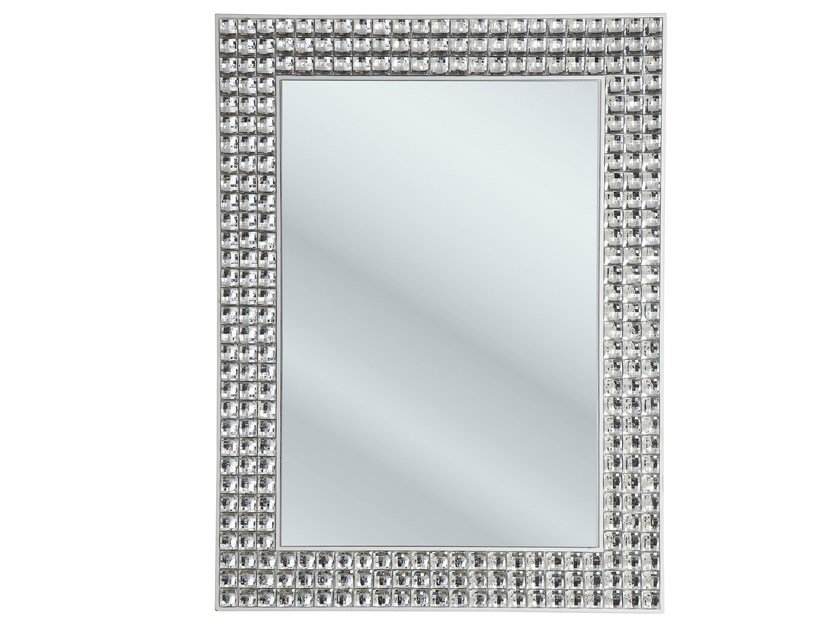 Wall-mounted mirror CRYSTALS | Wall-mounted mirror by KARE-DESIGN