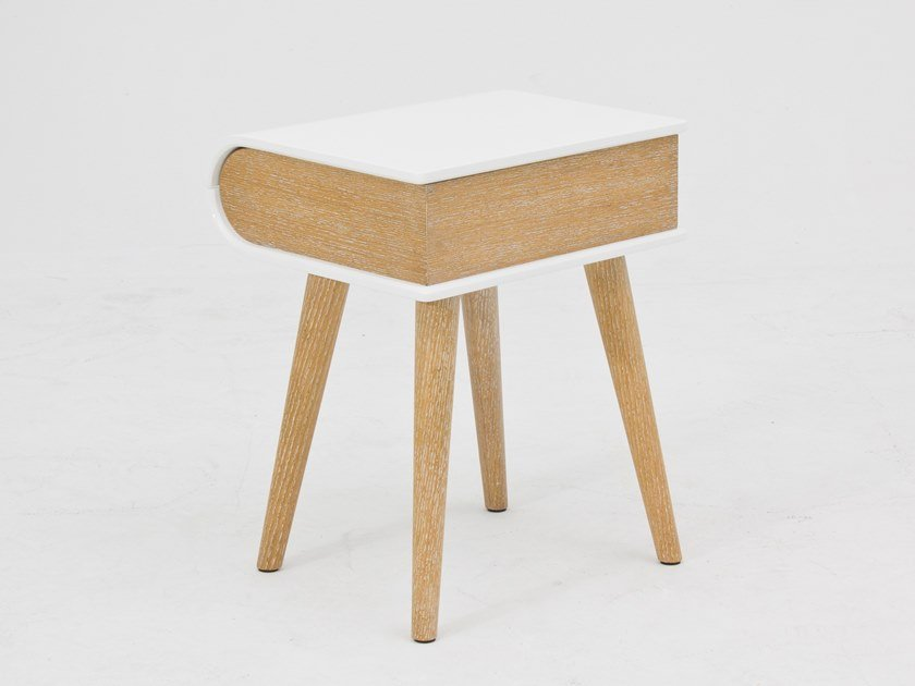 Tavolino rettangolare in legno con vano contenitore CT-326 | Tavolino by Adwin