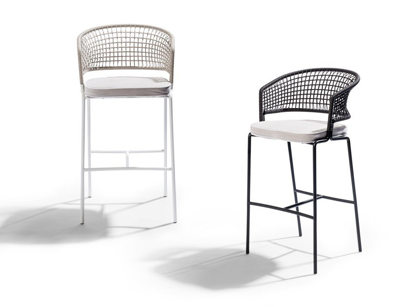High garden stool CTR | Stool by TRIBÙ