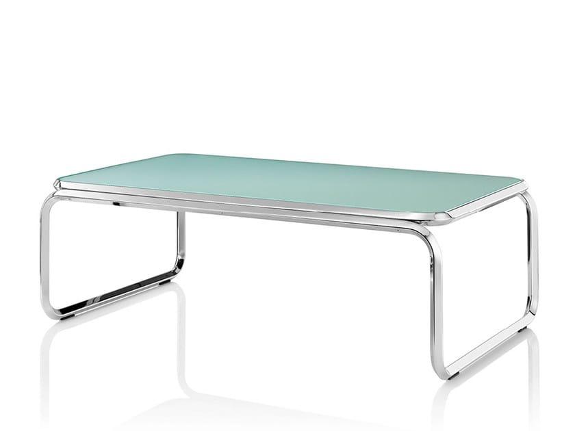 Rectangular glass coffee table CUBA | Glass coffee table by Boss Design