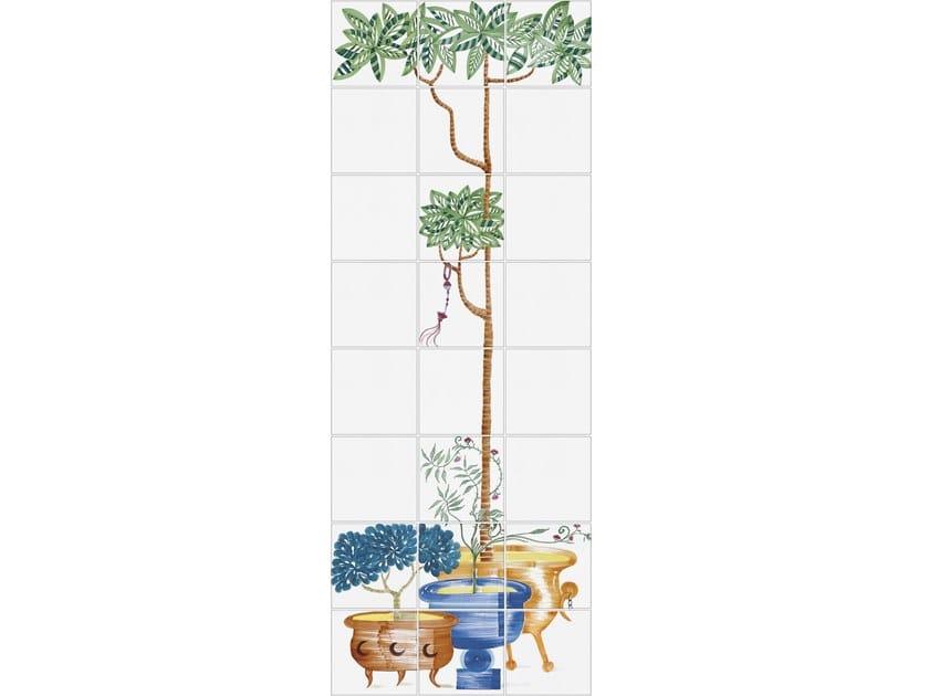Ceramic wall tiles CUBAN VERANDA 5 by Ceramica Bardelli