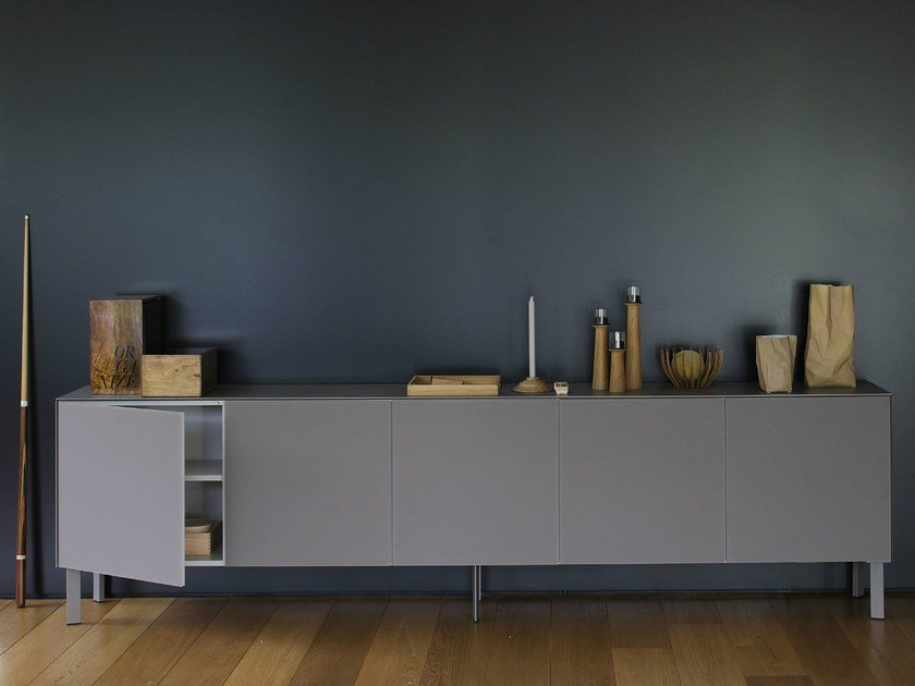 Modular Xeramica sideboard with doors CUBE 55 | Sideboard by Joli