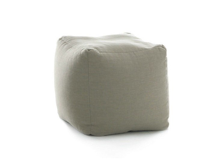 Upholstered pouf CUBE by Bolzan Letti