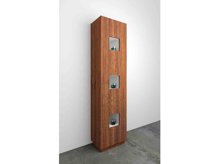 Tall Floorstanding Bathroom Cabinet CUBE | Tall Bathroom Cabinet By  Componendo