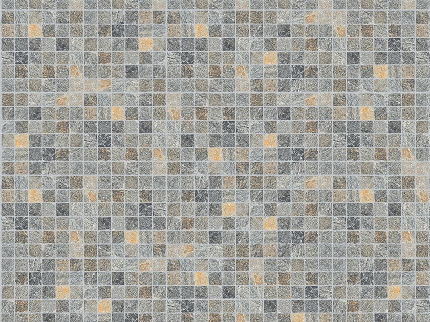 Porcelain stoneware outdoor floor tiles with stone effect CUBETTI LUSERNA by GRANULATI ZANDOBBIO