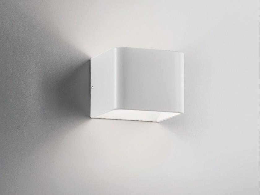 Lampada da parete a LED in alluminio pressofuso CUBETTO | Lampada da parete by AiLati