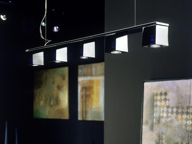 Cristallo Fabbian Sospensione In CubettoLampada A 2YEHe9WDI