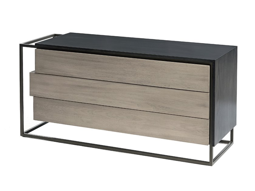 Wooden chest of drawers CUBIC by Shake