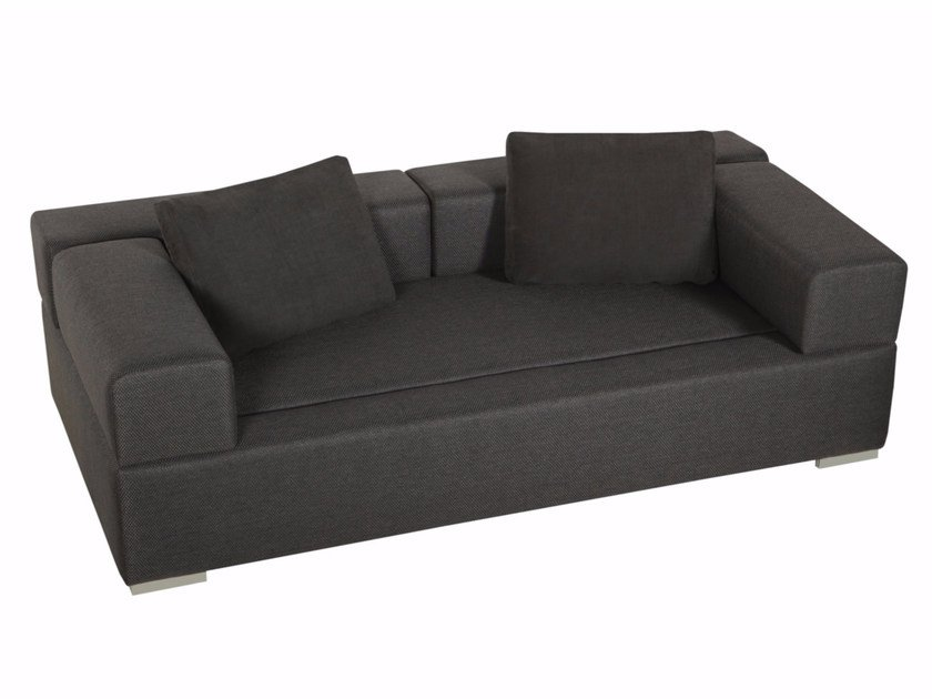 Upholstered 3 seater fabric sofa CUBIC | Sofa by SITS