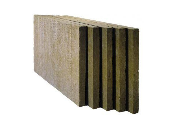 Rock wool Thermal insulation panel / Sound insulation and sound absorbing panel in mineral fibre CUBIERTA 150 by Saint-Gobain ISOVER