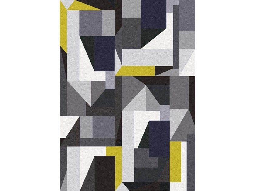 Broadloom printed carpet CUBISM by Miyabi casa