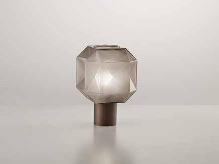 Murano glass table lamp CUBO LT 622 by Siru