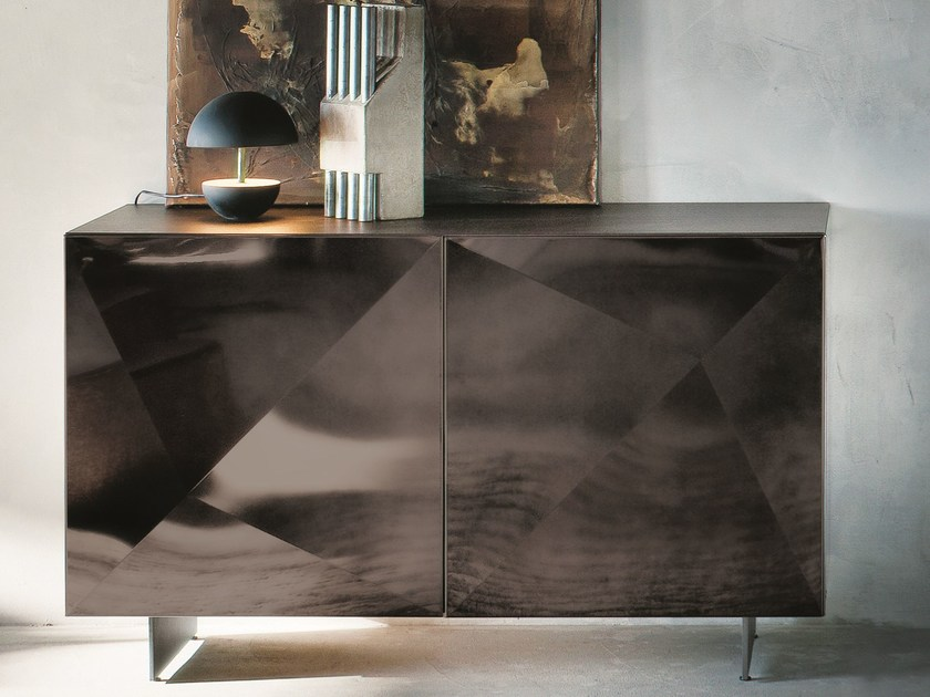 Sideboard with doors CUBRIC   Sideboard with doors by RIFLESSI