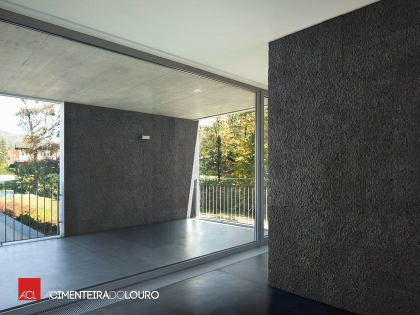 Concrete wall tiles with stone effect CUBUS by ACL
