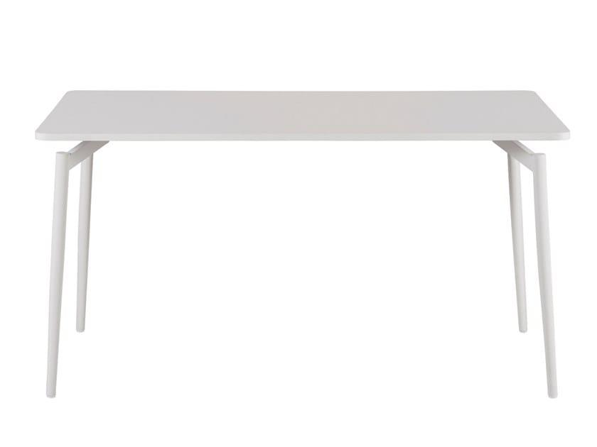 Rectangular laminate table CULT | Rectangular table by Segis