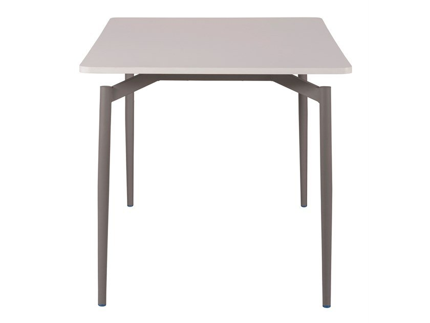 Square laminate table CULT | Square table by Segis