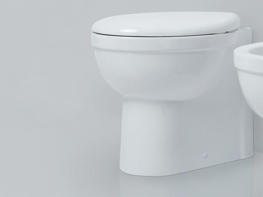 Ceramic toilet CULT | Toilet by AZZURRA sanitari