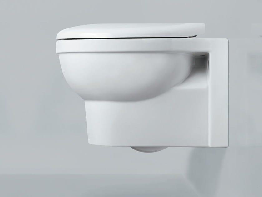 Wall-hung ceramic toilet CULT | Wall-hung toilet by AZZURRA sanitari