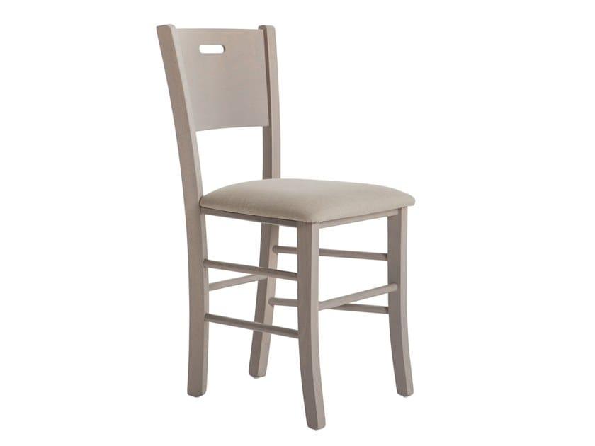 Beech chair CUNEO 481C.i2 by Palma