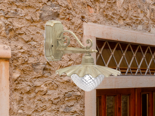 Murano glass wall lamp CUORE EB 425 by Siru