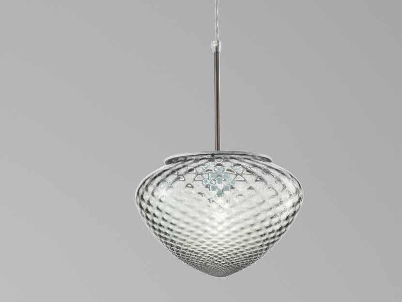 Cuore Lampada In Ls Sospensione Di A 617 Siru Vetro Murano kONw80PnX