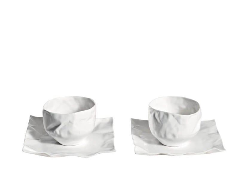 Set di tazze da tè in porcellana con piattino ADELAIDE   Set di tazze da tè by Driade