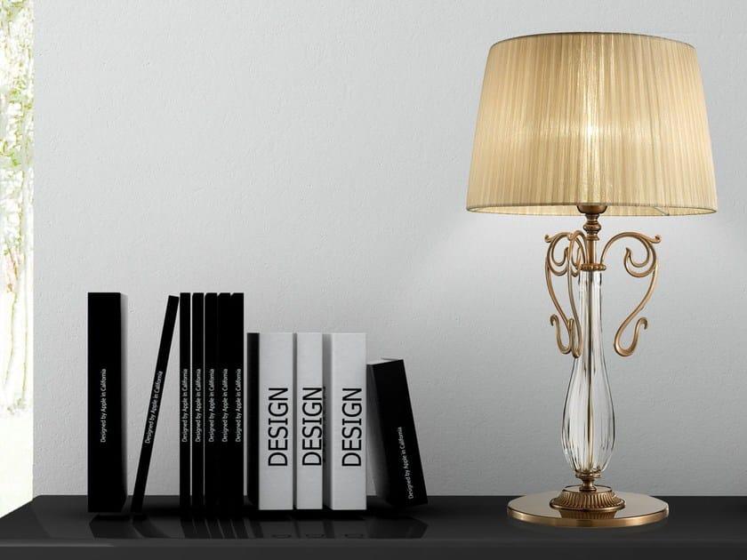Lampada da tavolo a luce diretta in metallo CURLI   Lampada da tavolo by Masiero