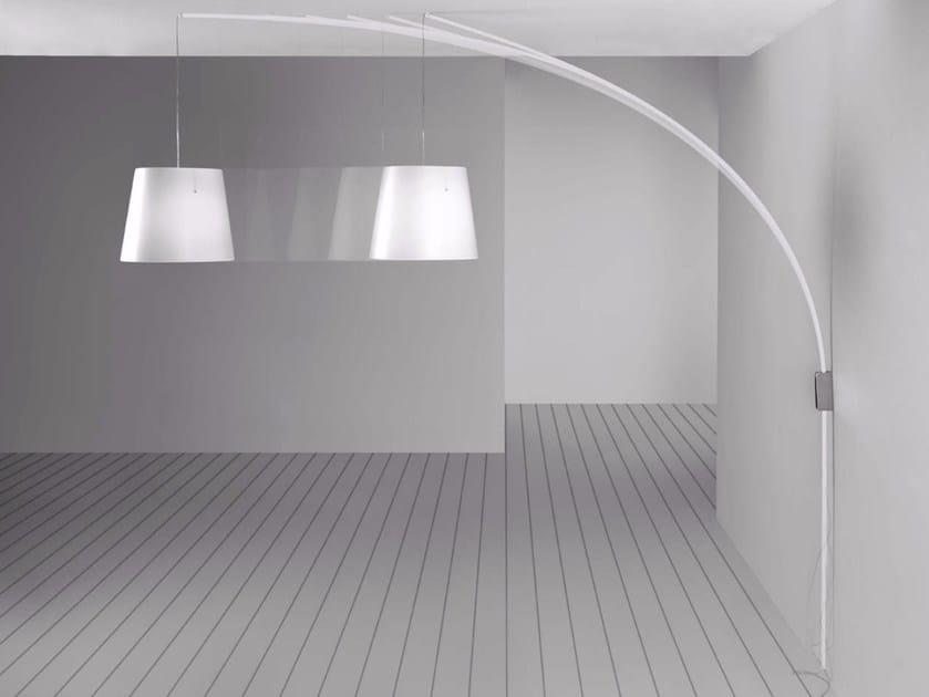 Polypropylene pendant lamp / wall lamp CURSORE by Marchetti